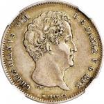 DENMARK. Rigbanksdaler, 1848-FK VS. Christian VIII. NGC EF-45.