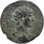 HADRIAN, A.D. 117-138. AE Dupondius (12.24 gms), Rome Mint, ca. A.D. 119-121.