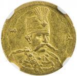 Lot 841 IRAN: Muzaffar al-Din Shah, 1896-1907, AV 5000 dinars, Tehran, AH1316, KM-994, interesting d