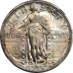 1916 Standing Liberty Quarter. MS-61 (NGC).