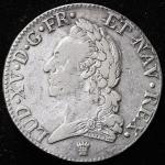 FRANCE Louis XV 儿イ15世(1715~1774) Ecu a'la vieille tete 1772I   F