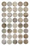 14527   民国 1927年 孙中山像壹圆银币一组二十枚,美品-上美品