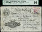 Bank of England, Ernest Musgrave Harvey (1918-1925), 100, Manchester, 13 June 1923, serial number 39