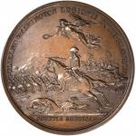 1781 Lieutenant Colonel William Washington at Cowpens Medal. Bronze. 46 mm. Betts-594, Adams and Ben