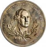 1799 (1963) Kochs Equestrian Medal. Restrike. Silver. 63.5 mm. 184.4 grams. Musante GW-935, Baker B-