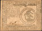 CC-48. Continental Currency. November 2, 1779. $3. Extremely Fine.