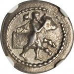 THESSALY. Tricca. AR Hemidrachm (2.52 gms), ca. 440-400 B.C.