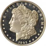 1895 Morgan Silver Dollar. Proof-66 Cameo (PCGS).