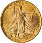 1922 Saint-Gaudens Double Eagle. MS-65 (PCGS). CAC.
