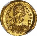 MARCIAN, A.D. 450-457. AV Solidus (4.47 gms), Constantinople Mint, ca. A.D. 450.