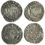 Henry VIII (1509-47), third coinage, Groats (2), both Tower mint, 2.47g, m.m. lis, henric 8 di g agl
