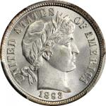 1893 Barber Dime. MS-67 (PCGS). CAC.