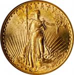 1914-S Saint-Gaudens Double Eagle. MS-62 (NGC). CAC.