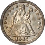 1845 Liberty Seated Dime. MS-64 (PCGS). OGH.