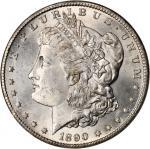 1890-CC Morgan Silver Dollar. MS-64 (NGC).