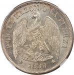 CHILE. Peso, 1880-So. NGC MS-64.