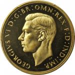 GREAT BRITAIN. 5 Pounds, 1937. PCGS PROOF-63 CAMEO.