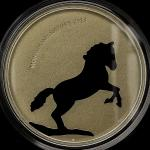 MONGOLIA モンゴ儿 500Tugrik 2014  オリジナ儿ケース入り with original case Matte Proof