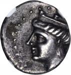 PAPHLAGONIA. Sinope. AR Hemidrachm (2.48 gms), ca. 4th to 3rd Century B.C.