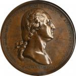 1776 Washington Before Boston Medal. Bronze. 69 mm. Paris Mint Restrike. Musante GW-09-P3, Baker-48G