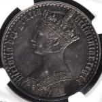 GREAT BRITAIN Victoria ヴィクトリア(1837~1901) Crown 1847 NGC-PF58 Proof EF+