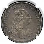 GREAT BRITAIN George III ジョージ3世(1760~1820) 5Shillings/Bank Dollar 1804 NGC-XF40 VF+