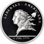 1781 (2004) Libertas Americana Medal. Paris Mint Restrike. Silver. .999 fine. 40 mm. Proof-69 DCAM (