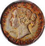 CANADA. Newfoundland. 5 Cents, 1881. London Mint. Victoria. PCGS MS-66 Gold Shield.