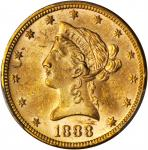 1888 Liberty Head Eagle. MS-62 (PCGS).