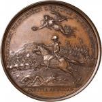 1781 Lieutenant Colonel William Washington at Cowpens Medal. Paris Mint Restrike. Bronzed Copper. 46