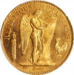 1882-A年100法郎金币。 巴黎造币厂。FRANCE. 100 Francs, 1882-A. Paris Mint. PCGS MS-63 Gold Shield.