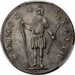 1788 Massachusetts Cent. Ryder 7-M, W-6250. Rarity-4. Period After MASSACHUSETTS. EF-40 BN (PCGS).