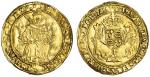 Edward VI (1547-53), Half-Sovereign, Southwark, First period, 5.93g, mm. E (obv. over arrow), edward