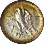 1938 Texas Independence Centennial. MS-67 (NGC).