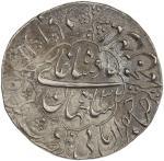 India - Mughal Empire. MUGHAL: Shah Jahan I, 1628-1658, AR rupee (11.46g), Baldat Allahabad, AH1068