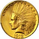 1912 Indian Eagle. MS-64 (PCGS).