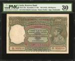 1943年印度储备银行100卢比。INDIA. Reserve Bank of India. 100 Rupees, ND (1943). P-20e. PMG Very Fine 30.