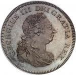 GRANDE-BRETAGNE Georges III (1760-1820). Essai du dollar [5 shillings 6 deniers], Banque d'Angleterr