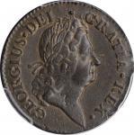 1722 Rosa Americana Penny. Martin 2.9-C.3, W-1264. Rarity-4. UTILE DULCI. AU-58 (PCGS).