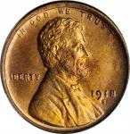 1918-S Lincoln Cent. MS-65 RD (PCGS).