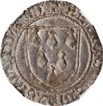 FRANCE. Brittany. Gros a lEcu, ND (1458-88). Rennes Mint. Francois II. NGC AU-55.