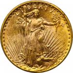 1925-D Saint-Gaudens Double Eagle. MS-65 (PCGS).