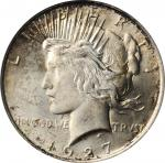 1927-D Peace Silver Dollar. MS-65 (PCGS).