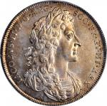 GREAT BRITAIN. James II Coronation Silver Medal, 1685. PCGS AU-55 Gold Shield.