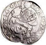 1640年荷兰1 LD银币,史上最早之贸易币之一,NGC AU Details,有清洗,品相超卓