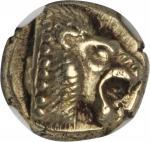 LESBOS. Mytilene. El Hekte (2.52 gms), ca. 521-478 B.C.