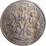 ITALY. Tuscany. Pezza della Rosa, 1707. Leghorn Mint. Cosimo III de Medici. PCGS MS-62 Gold Shield.