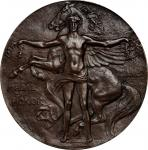 1926 Massachusetts Normal Arts School Medal Of Honor. Bronze. 61.3 mm. By Cyrus E. Dallin and Raymon