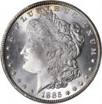 1885-CC Morgan Silver Dollar. MS-66 (PCGS).
