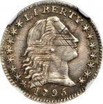 1795 Flowing Hair Half Dime. LM-8. Rarity-3. AU-50 (NGC).